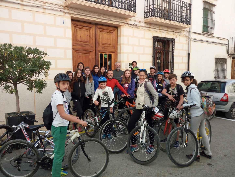 Coneixent la Vall d'Albaida amb bicicleta i mitjançant la lectura