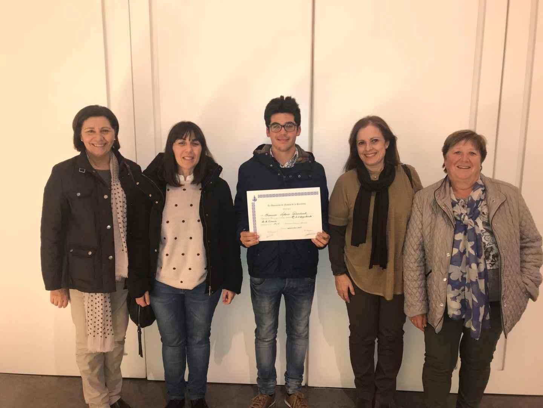 Fran Notario, segon premi al Literario Mariano de la Purissima