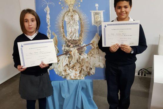 Pablo Martínez i Sara Sanchis, premiats al Certamen de la Puríssima