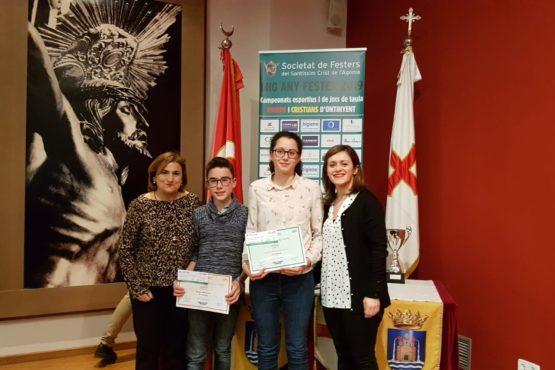 Dos premios para la Milagrosa en los concursos de la fiesta de Moros y Cristianos
