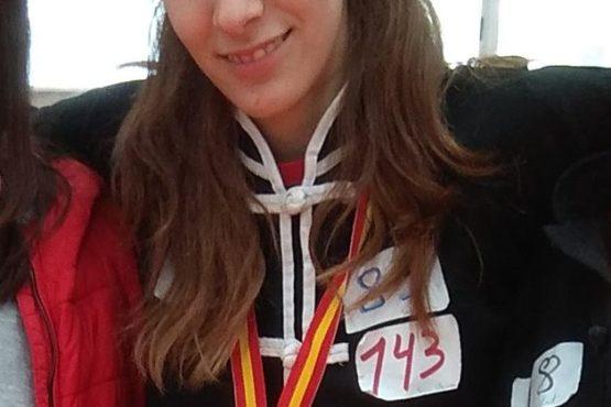 La alumna Sara Olcina se convierte en deportista de élite