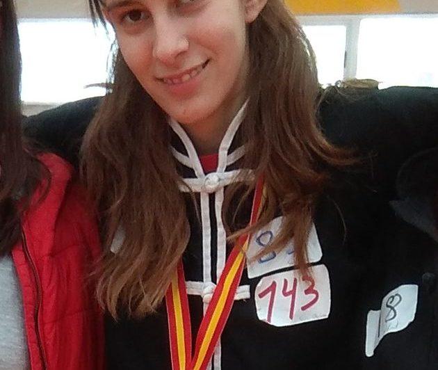 L'alumna Sara Olcina es converteix en esportista d'èlit
