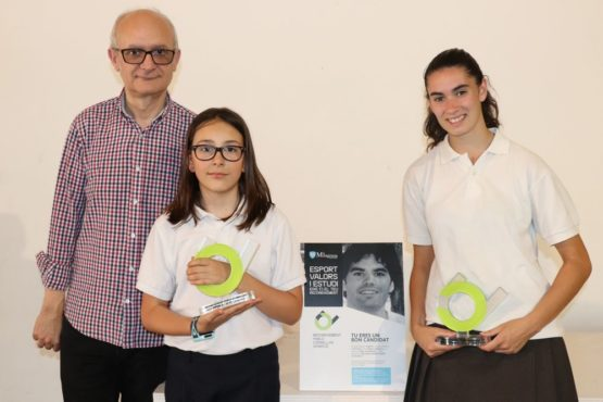 Lucía Ribera i Gisela Espejo, guanyadores dels premis Pablo Corbellas