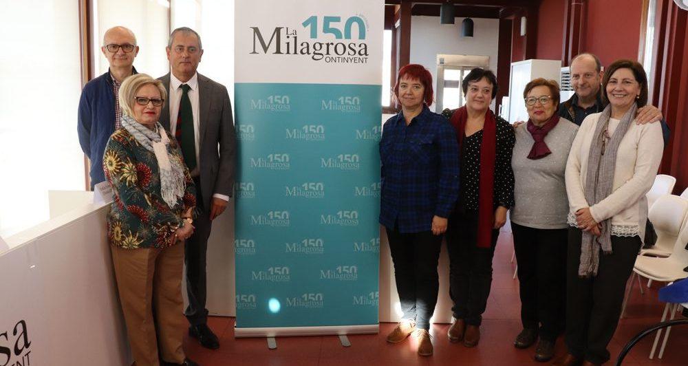 Amb la presentació del logo, arranquen els actes del 150 aniversari de la Milagrosa