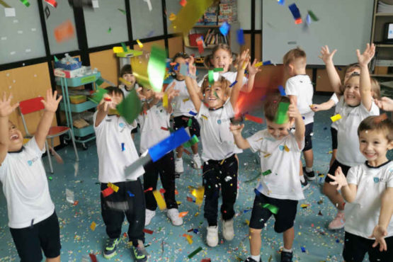 Fiesta de inicio de curso de Infantil