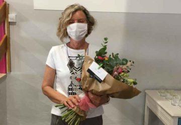 La profesora Tere Ángel se ha jubilado.