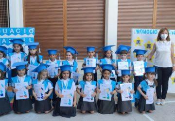 El alumnado de infantil 5 años del colegio La Milagrosa se gradúa